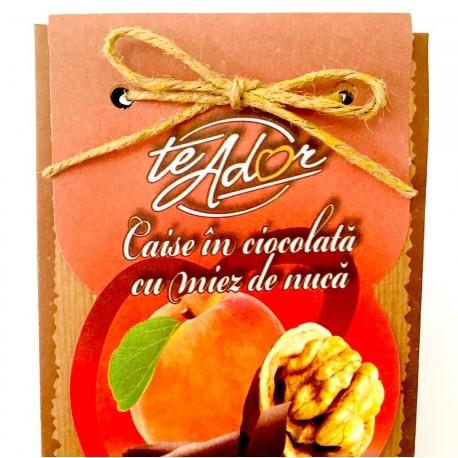 Caisă în ciocolată