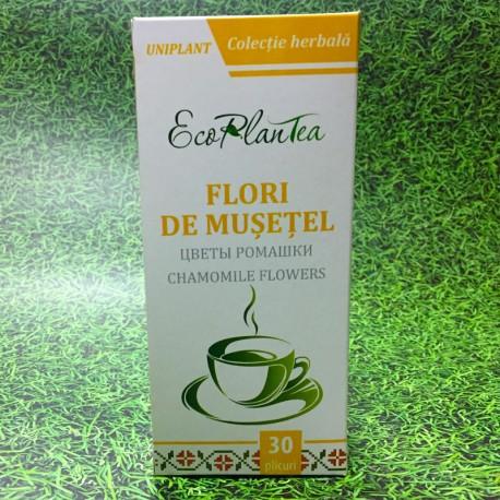 """Ceai în pliculețe """"Flori de mușețel"""""""