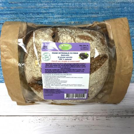 Pâine cu MAIA, cu prune uscate, din grâu ECO